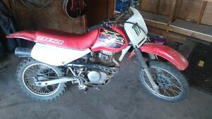 2000 Honda XR80 serviced/ brakes done /new clutch cable
