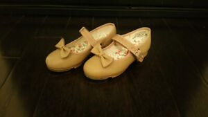 Girl's Capezio Tap Shoes