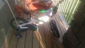 Vancouver canucks kids bike