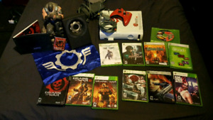 Xbox 360 and lot of games $80.