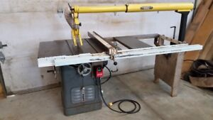 """Delta 10"""" Unisaw table saw with Excalibur Guard"""