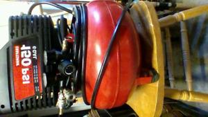 CRAFTSMAN 6 GAL OIL FREE PANCAKE COMPRESSOR