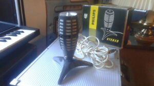 Vintage Philips EL 3784/01 Stereo Microphone Made in Holland