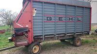 Gehl Forage Wagon - Dion Forage Wagon