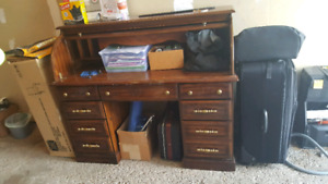Vintage, antique secretary, writer desk