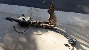 2011 Suzuki GSX-R 600 OEM Used Header Full Exhaust with O2Sensor