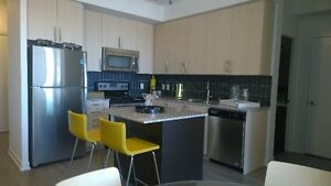Avail Jun 1 - BRAND NEW 1-bed + den at City Centre