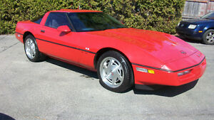 1988 chevrolet corvette coupe original a voir !!! 11900.00$