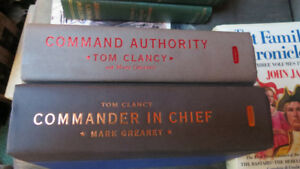 Tom Clancy with Mark Greaney books(2)