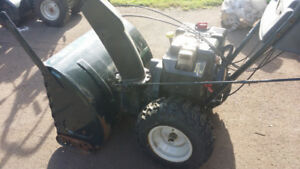 10HP 30inch cut Snowblower pre season special.