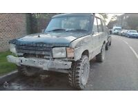 300tid Land Rover Discovery off roader mot