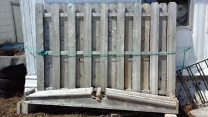 Panneaux de clôture