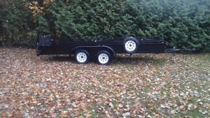 """54""""x16'  utility trailer for sale tandem"""
