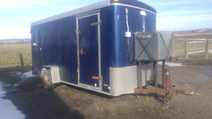Enclosed trailer  for sale 6x14