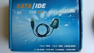 USB to SATA/IDE Cable for HDD/CD/DVD