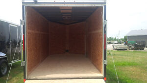 7 BY 14 SINGLE AXLE LOOK ENCLOSED TRAILER London Ontario image 5