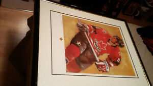 BLOW-OUT Ltd Ed. 7 of 150 Lindros Team Canada 2002 Signed Print