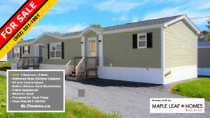 New Mini homes in Timber Trail Homes