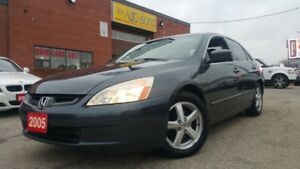 2005 Honda Accord EX-L LEATHER SUNROOF AUTOMATIC ONLY $3980