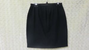 Weekenders Ladies Women's Knit Above Knee Skirt Black Size S