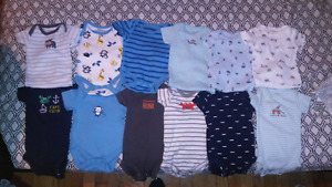 Various baby boy items