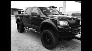 8 inch lifted 2005 Ford F-150 XLT Pickup Truck