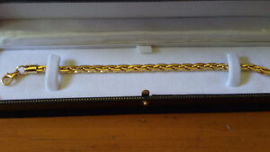 New 18k Gold plated