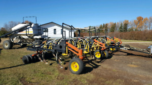 5700 Bourgault Air Drill and 3225 Tank
