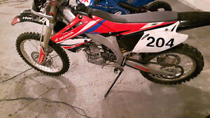 2002 CRF 450 Street Legal! Supermoto/Dirt Blue plated