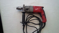 Milwaukee or Walter Metabo hammer drill