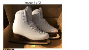 Ladies figure skates GAM size 6 - like new