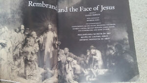 REMBRANT AND THE FACE OF JESUS SOFT COVER TABLETOP BOOK London Ontario image 2