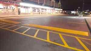 Parking Lot Line Painting - Hot Rubberized Crack Sealing  Cambridge Kitchener Area image 8