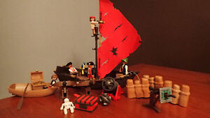 Playmobil Pirate boat (4444) for sale