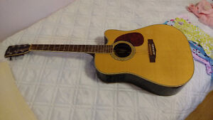 Cort 740fx Indian Rosewood Acoustic electric Guitar