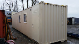 Mobile Shipping Container Office for rent or sale !