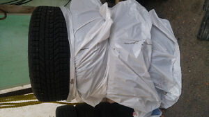 Used Winter Tires Winterforce M+S Belleville Belleville Area image 4