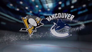 ★★ Vancouver Canucks vs. Pittsburgh Penguins ★★SAT Oct 27 7PM