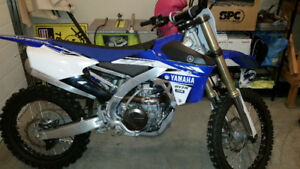 2017 YZ 450R LIKE NEW!!!