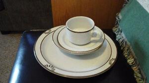 Stoneware dishes