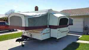 Jayco Eagle 12' Tent Trailer with Slide Out