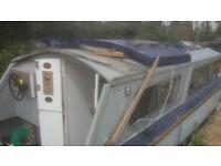 27ft Dawncraft Cabin Cruiser Canal Boat