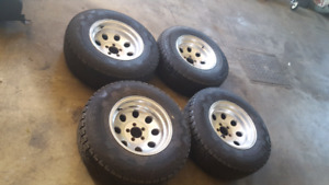 Ford ranger mags & tires