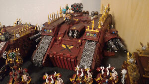 Painted 40k Chaos army, trade for X wing? London Ontario image 8