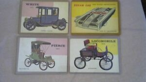 VINTAGE 1953 THE WORLD ON WHEELS TRADING CARDS