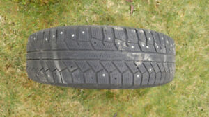 Continental studded winter tires