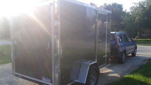 New 2016 6x10 enclosed trailer