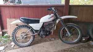 1981 yamaha mx 175