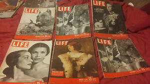 - 6 - Time Magazines From 1947