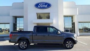 2015 Ford F-150 LARIAT 4X4 CREW MOONROOF   - Certified - $292.45